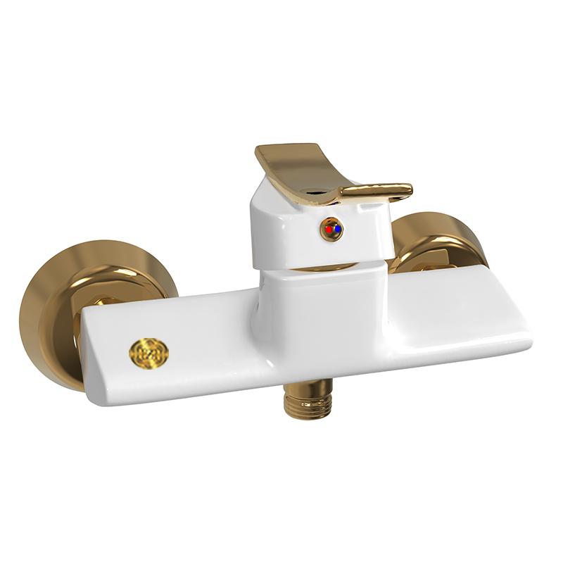 توالت ادرینا سفید طلایی