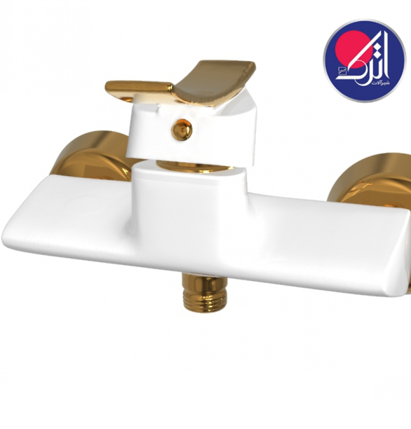 توالت ادرینا سفید طلا